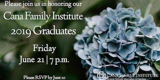 Cana Family Institute 2019 Graduation - St. Paul/Minneapolis