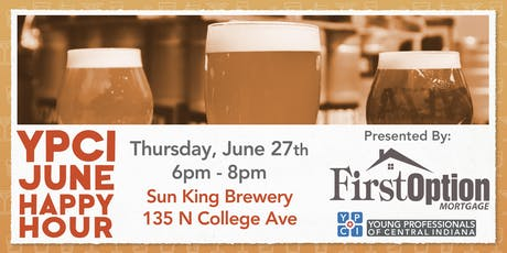 YPCI: June Happy Hour at Sun King Brewery, pres. by First Option Mortgage  tickets
