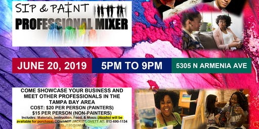 Rogue Enterprises Presents SIP and PAINT: A business professional mixer