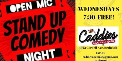 Comedy @ Caddies!