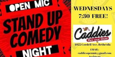 Comedy @ Caddies!