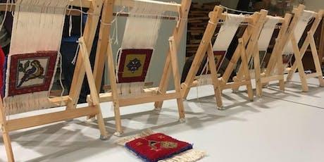 WORKSHOP WITH ARTIST SHORSH SALEH | Weave a Flying Carpet tickets