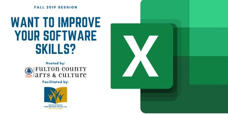 MS Excel: Building Spreadsheets and Worksheet Basics tickets