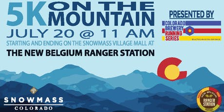 5k On The Mountain - Ranger Station - Colorado Brewery Running Series tickets