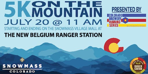 5k On The Mountain - Ranger Station - Colorado Brewery Running Series