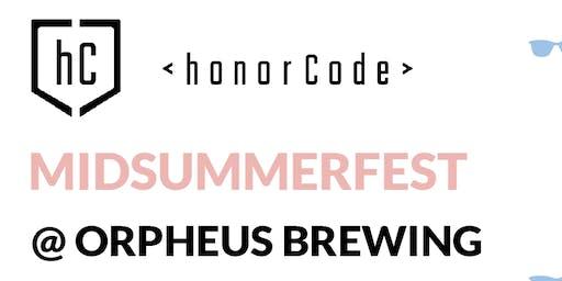 honorCode 2nd Annual Midsummerfest
