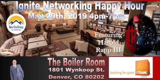 Ignite Networking Happy Hour Jazz Artist Featuring Harold Rapp III