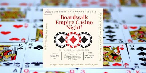 Board Walk Empire Casino Night