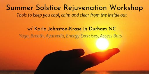 Summer Solstice REJUVE workshop