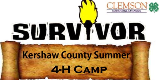 Kershaw County 4-H Survivor (Youth Leadership) Day Camp
