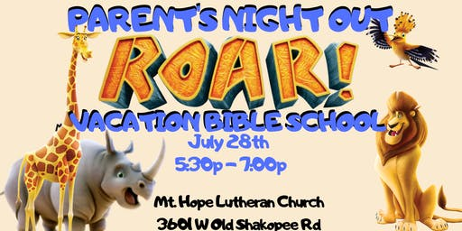 Parent's Night Out - VBS
