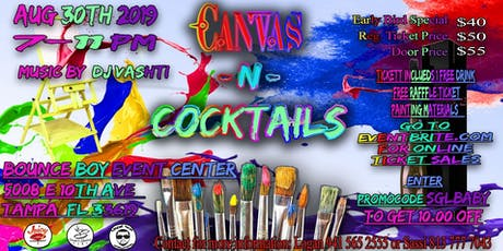 Canvas-N-Cocktails tickets