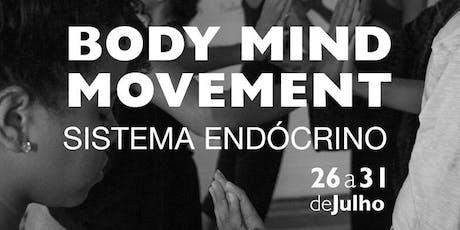 Módulo Sistema Endócrino - Body Mind Movement Recife ingressos