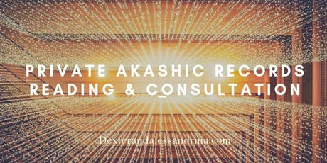 Akashic Records Reading & Consultation: Receive Spiritual Guidance tickets