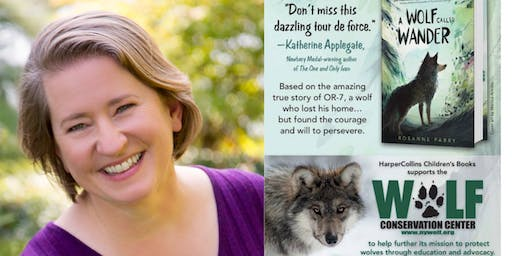 Wildlife Tracking with author Rosanne Parry