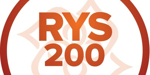RYT200 Yoga Teacher  Certification Training
