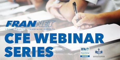 How Successful Franchisors and Franchisees Partner to Win (CFE WEBINAR) tickets