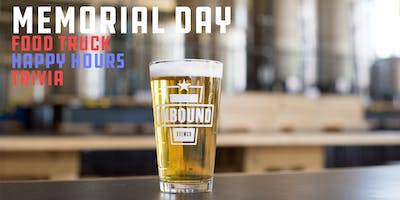Memorial Day Beers at Inbound BrewCo