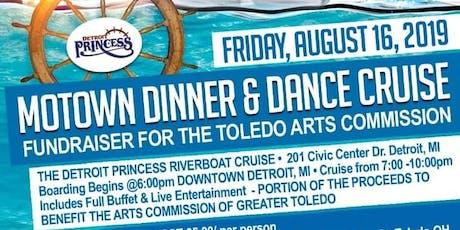The 8th Annual Detroit Princess Motown Dinner & Dance Cruise Fundraiser tickets