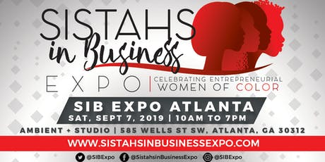 Sistahs in Business Expo 2019 - Atlanta, GA tickets