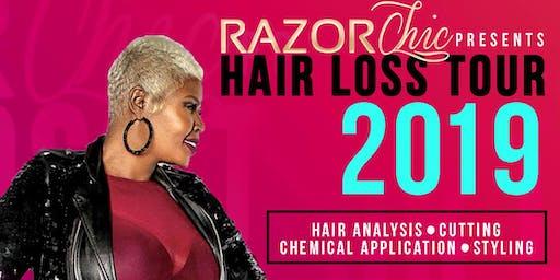 Razor Chic Baltimore Hair Loss Tour 2019