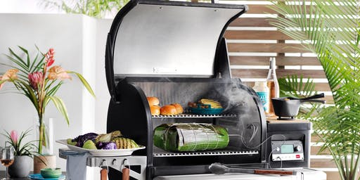 Elevate your Backyard BBQ with Traeger Grills at Williams Sonoma Bedford Sqaure