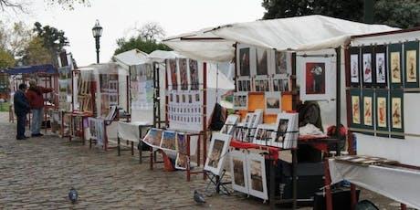 Feria de Artesanos de Plaza Francia biglietti