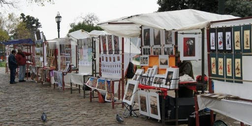 Feria de Artesanos de Plaza Francia