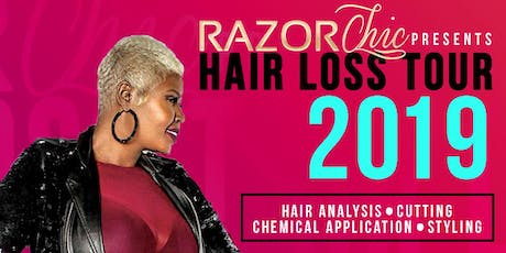 Razor Chic Washington DC Hair Loss Tour 2019 tickets