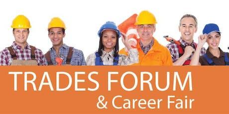 Trades Expert Panel & CAREER FAIR: Construction & Manufacturing tickets