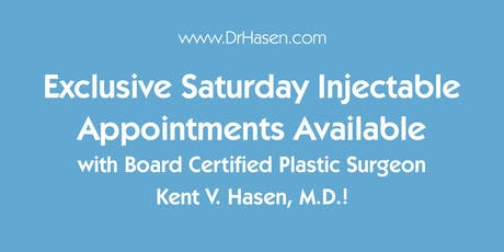 Dr. Hasen's Saturday Injectables tickets
