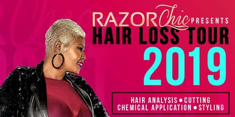 Razor Chic London Hair Loss Tour 2019 tickets