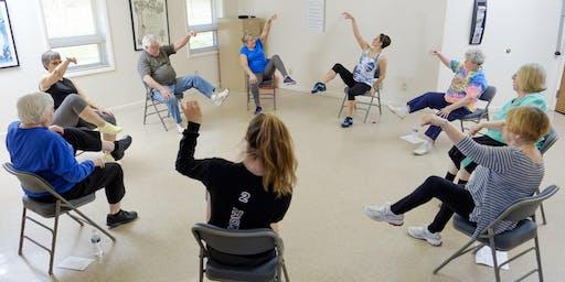 2019 Parkinson's Dance Class - TJUC
