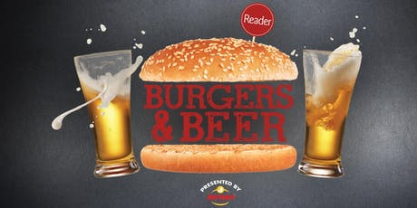 Reader Burgers & Beer 2019 tickets