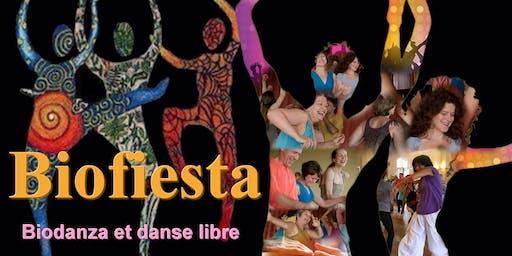 Biofiesta, Biodanza et danse libre
