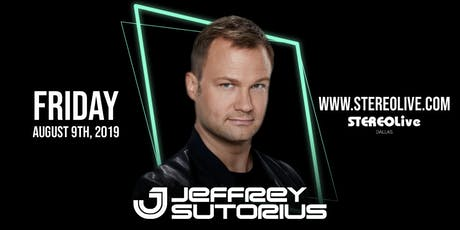 Jeffrey Sutorius - Dallas tickets