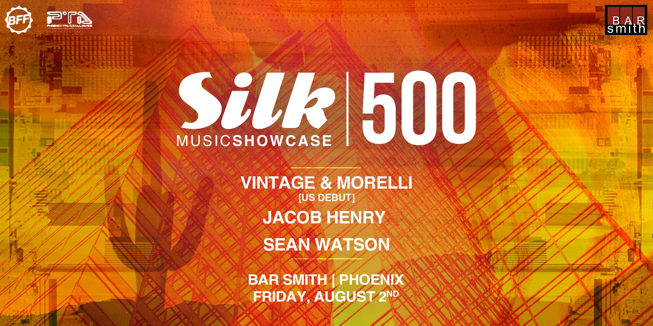 Silk Music Showcase 500 w/ Vintage & Morelli, Jacob Henry, & Sean Watson