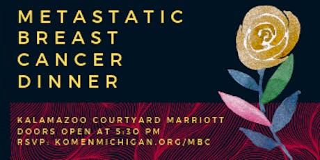 Metastatic Breast Cancer Dinner tickets