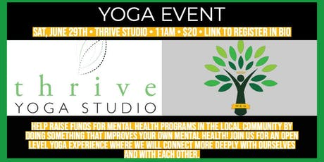 Yoga & Mental Health Fundraiser tickets