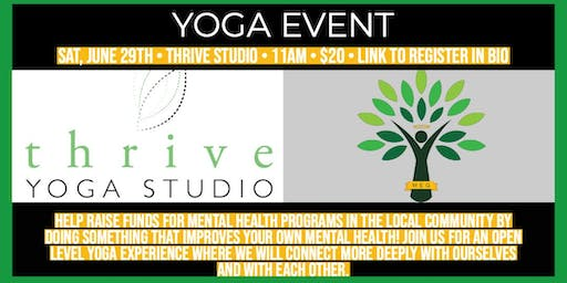 Yoga & Mental Health Fundraiser