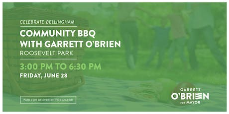 Community BBQ with Garrett O'Brien tickets