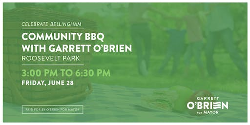 Community BBQ with Garrett O'Brien