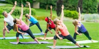 Free Yoga for All in the Park