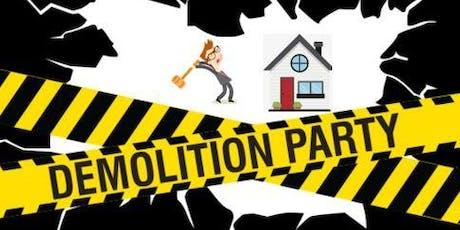 Demolition Party tickets