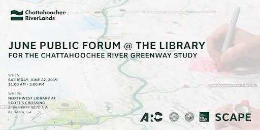 June Public Forum @ The Library