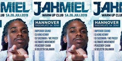 Jahmiel Live in Hannover Club Warm Up Pary Good Vibes One Love