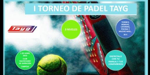 Jornada de Padel Tayg