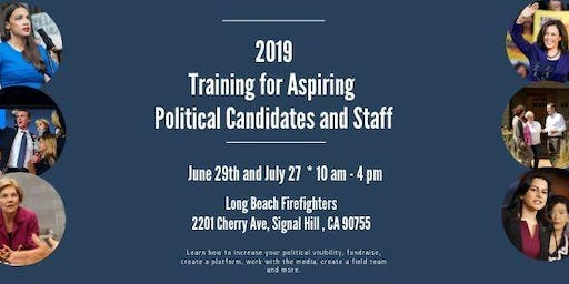 Free Training for Aspiring Political Candidates and Staff (2-Part Series)