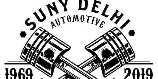 SUNY Delhi Automotive program 50th anniversary