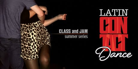 Latin Contact Dance. Class and Jam Summer Series  tickets